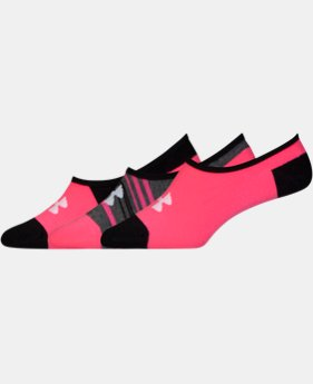 6-Pack Women's UA Lolo Sock 3-Pack  3 Colors $14.99