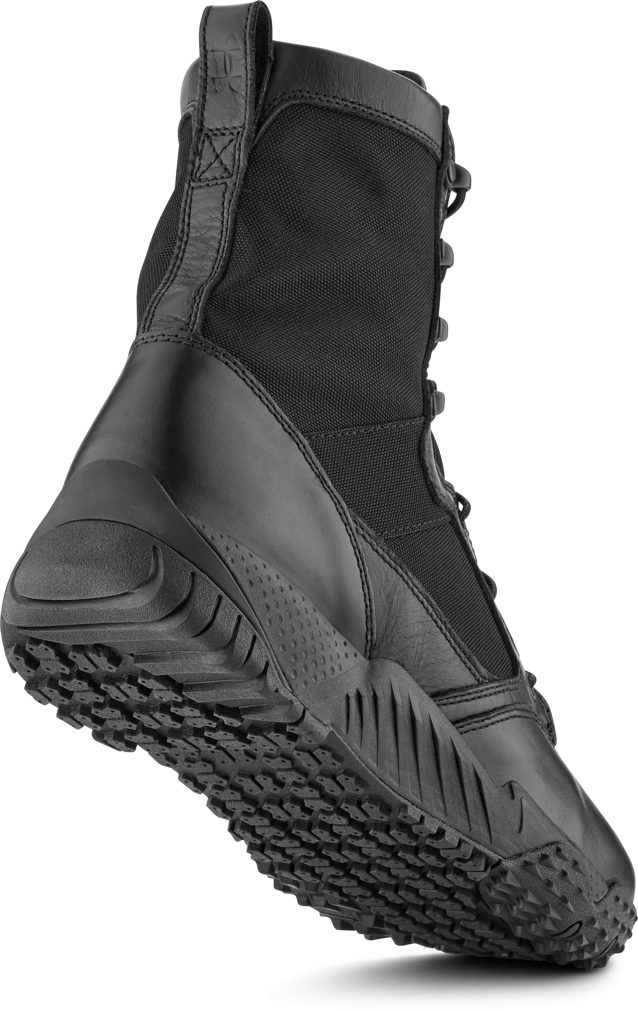 Men's UA Jungle Rat Boots, Black ,
