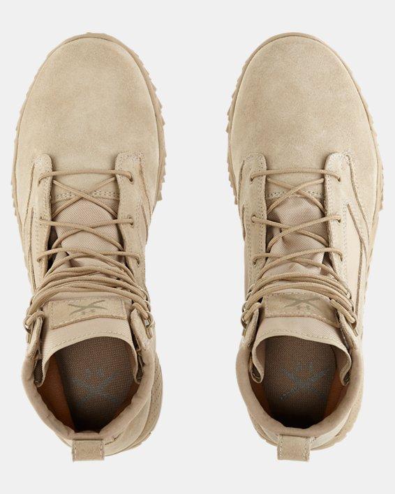 Men's UA Jungle Rat Boots, Brown, pdpMainDesktop image number 4