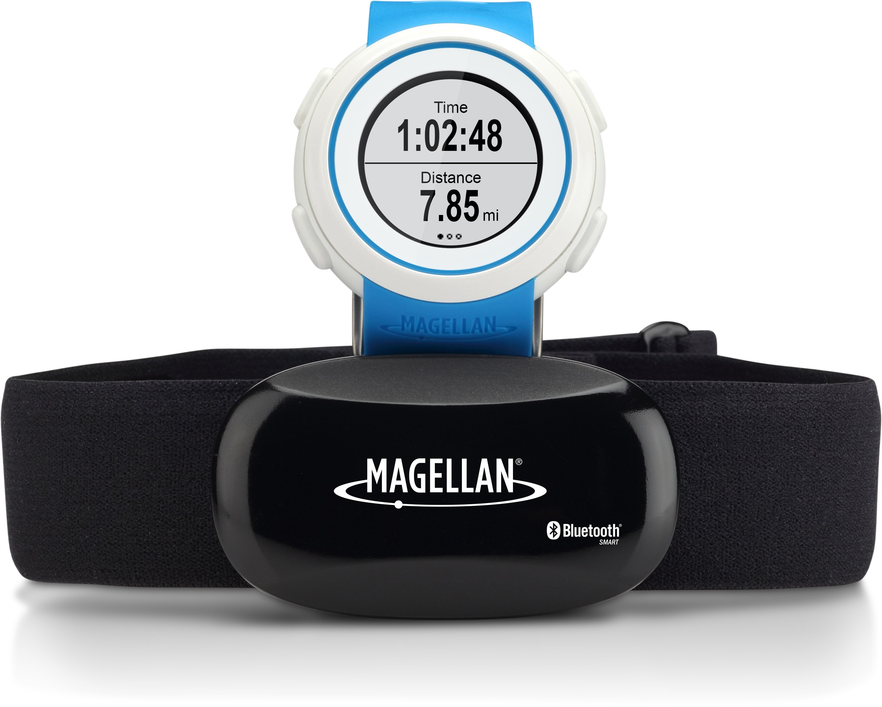 Magellan Echo Watch + HRM, Blue, undefined