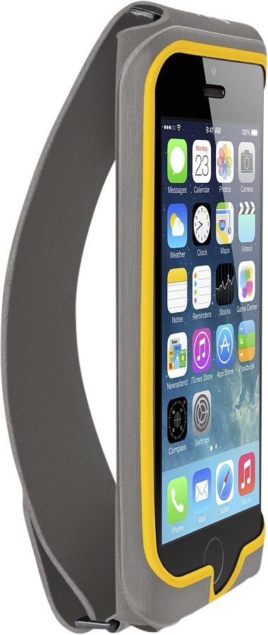 Belkin Grip-Fit Handband for iPhone5, Gray