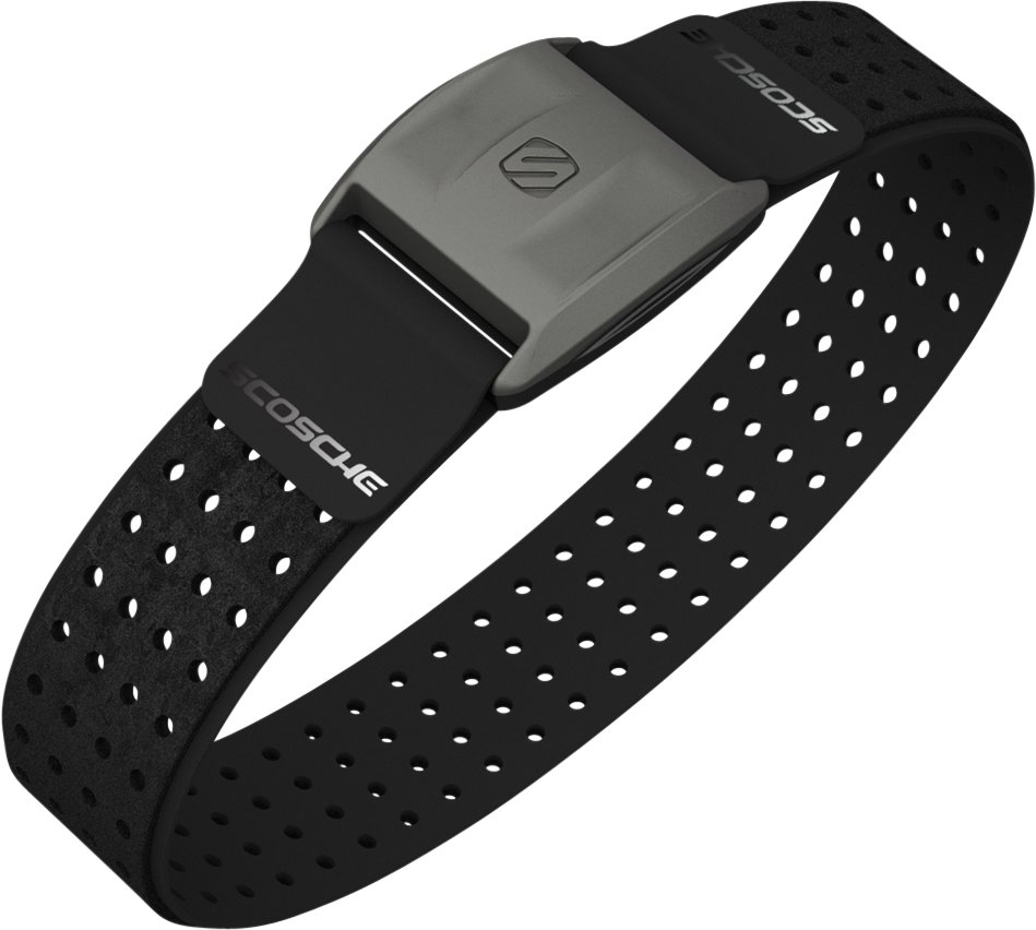 RHYTHM+ Heart Rate Monitor, Black , undefined