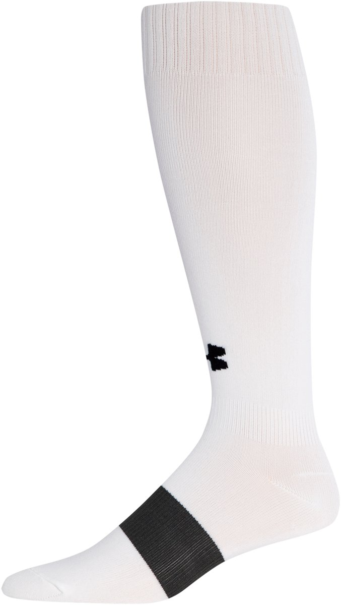 Kids' UA Soccer Over-The-Calf Socks, White, undefined