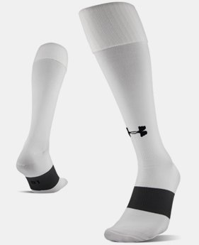 Best Seller UA Soccer Solid Over-The-Calf Socks  3  Colors Available $9.99 to $10