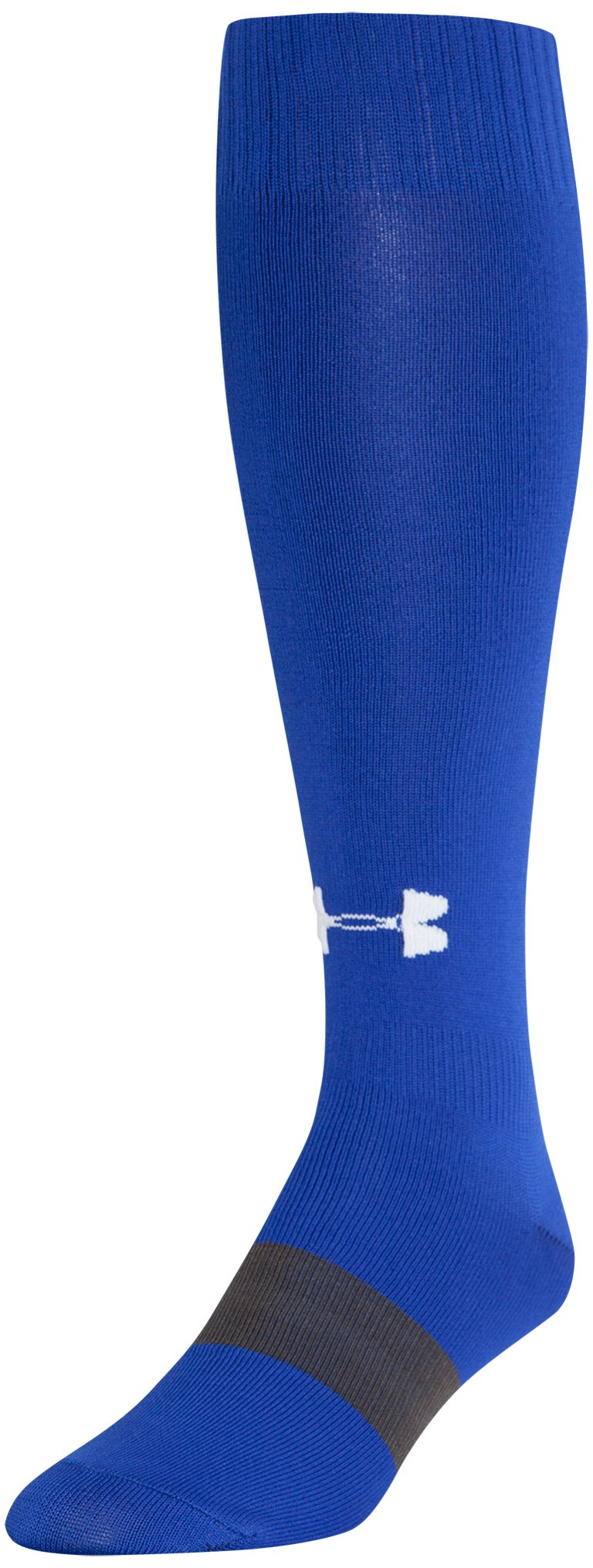 UA Soccer Solid Over-The-Calf Socks, Royal, zoomed image