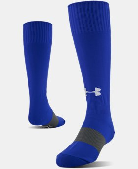 Best Seller UA Soccer Solid Over-The-Calf Socks  4  Colors Available $9.99 to $10