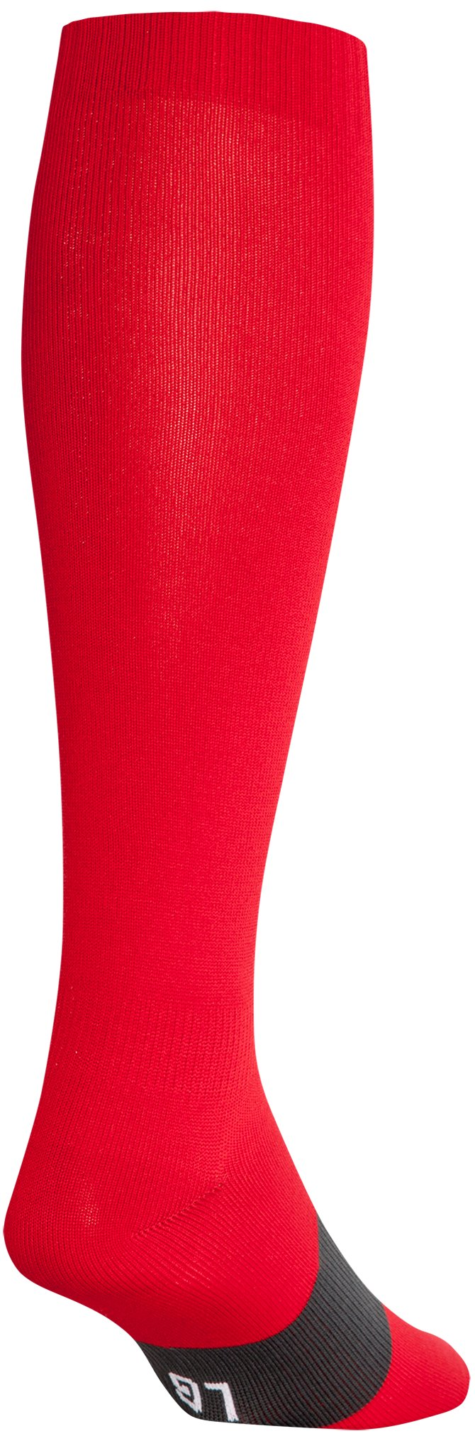 red high socks UA Soccer Solid Over-The-Calf Socks Great socks!...Nice socks...These feel comfortable enough and don't constrict my calfs like most socks do.
