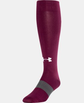 Best Seller UA Soccer Solid Over-The-Calf Socks  2  Colors $10