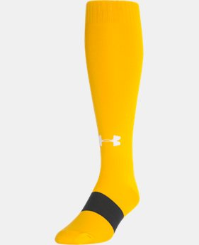 Best Seller UA Soccer Solid Over-The-Calf Socks  1  Color Available $9.99 to $10