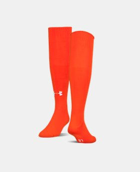 Best Seller UA Soccer Solid Over-The-Calf Socks  2 Colors $9.99 to $10