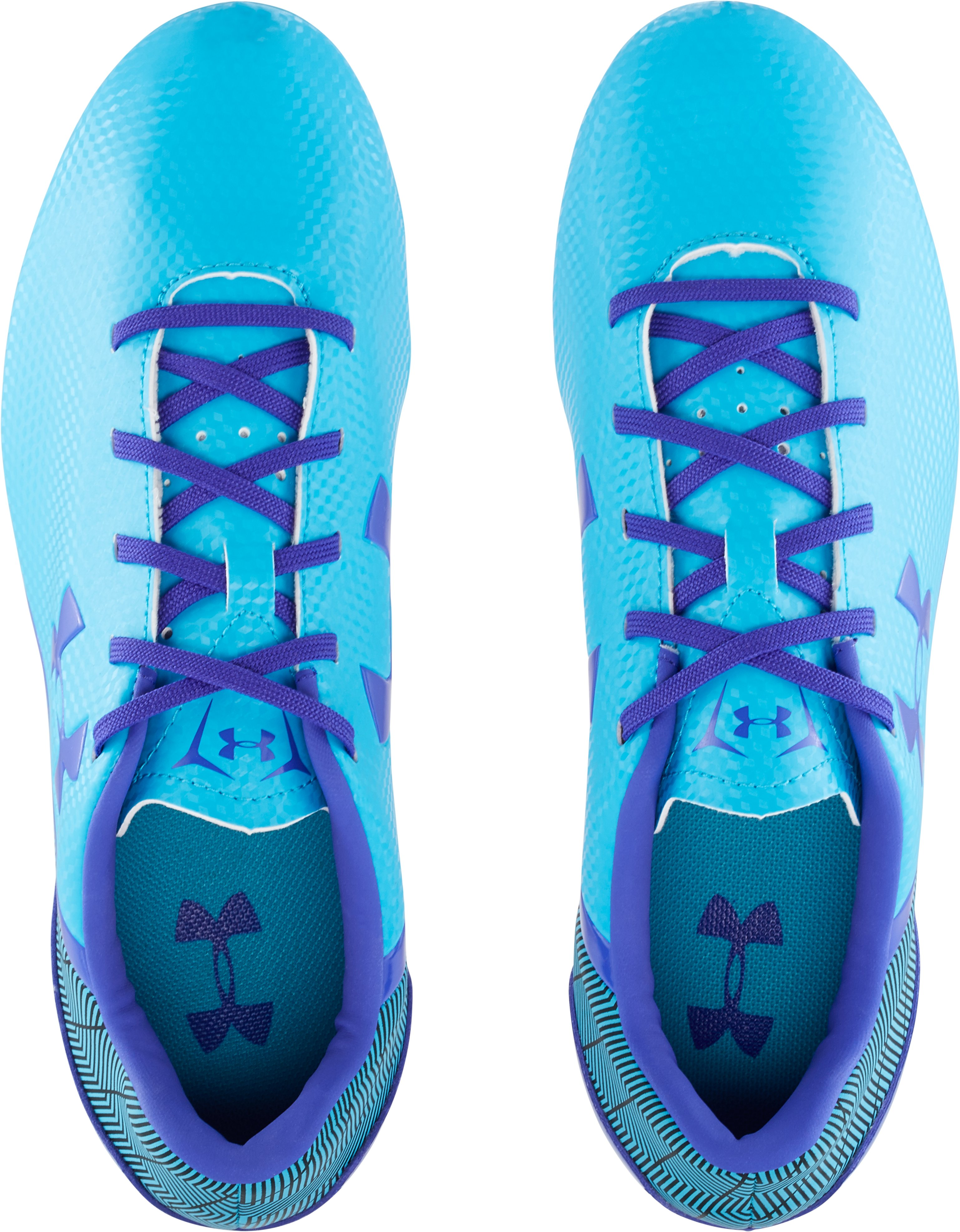 Women's UA Flash FG Soccer Cleats, ALPINE,