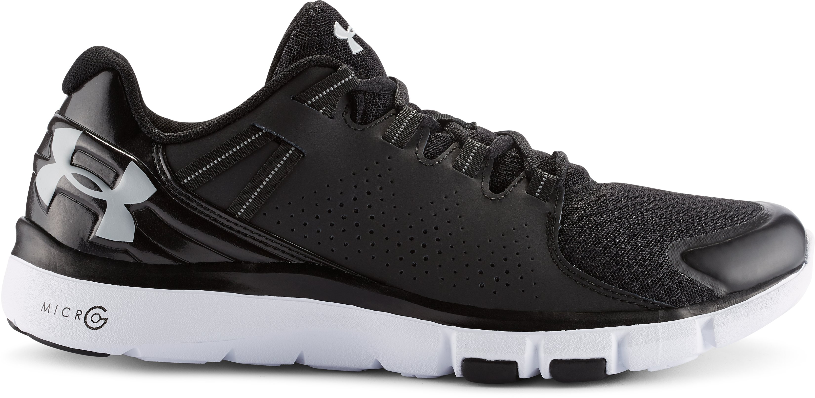 Men's UA Micro G® Limitless Training Shoes, Black , zoomed image