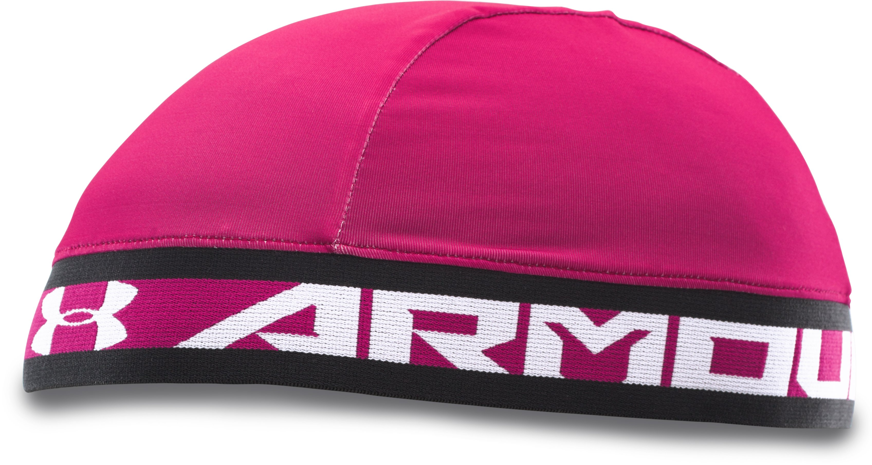 Men's UA PIP HeatGear® Armour Skull Cap, Tropic Pink