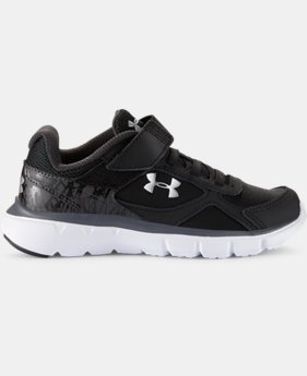 Boys' Pre-School UA Velocity Alternate Closure Running Shoes   $41.99