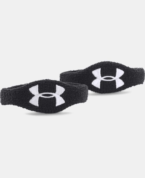"UA 1/2"" Oversized Performance Wristband 2-Pack LIMITED TIME: FREE SHIPPING 1 Color $6.99"