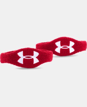 "UA 1/2"" Oversized Performance Wristband 2-Pack LIMITED TIME: FREE U.S. SHIPPING 2 Colors $5.99"