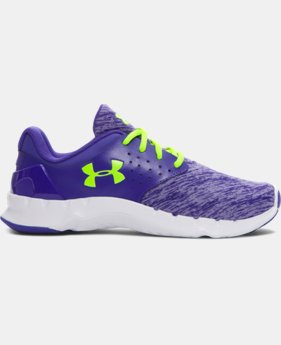Girls' Grade School UA Flow Twist Running Shoes
