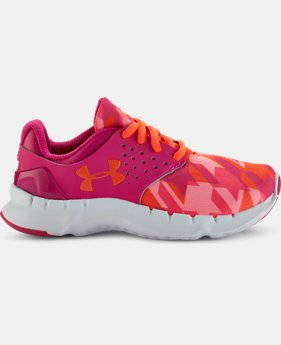 Girls' Pre-School UA Flow Running Shoes  1 Color $39.99