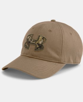 Men's UA Faded Camo Logo Cap   $18.99