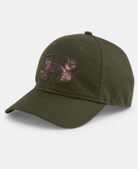 Men's UA Faded Camo Logo Cap