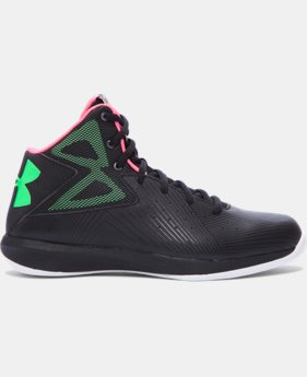 Boys' Grade School UA Rocket Basketball Shoes