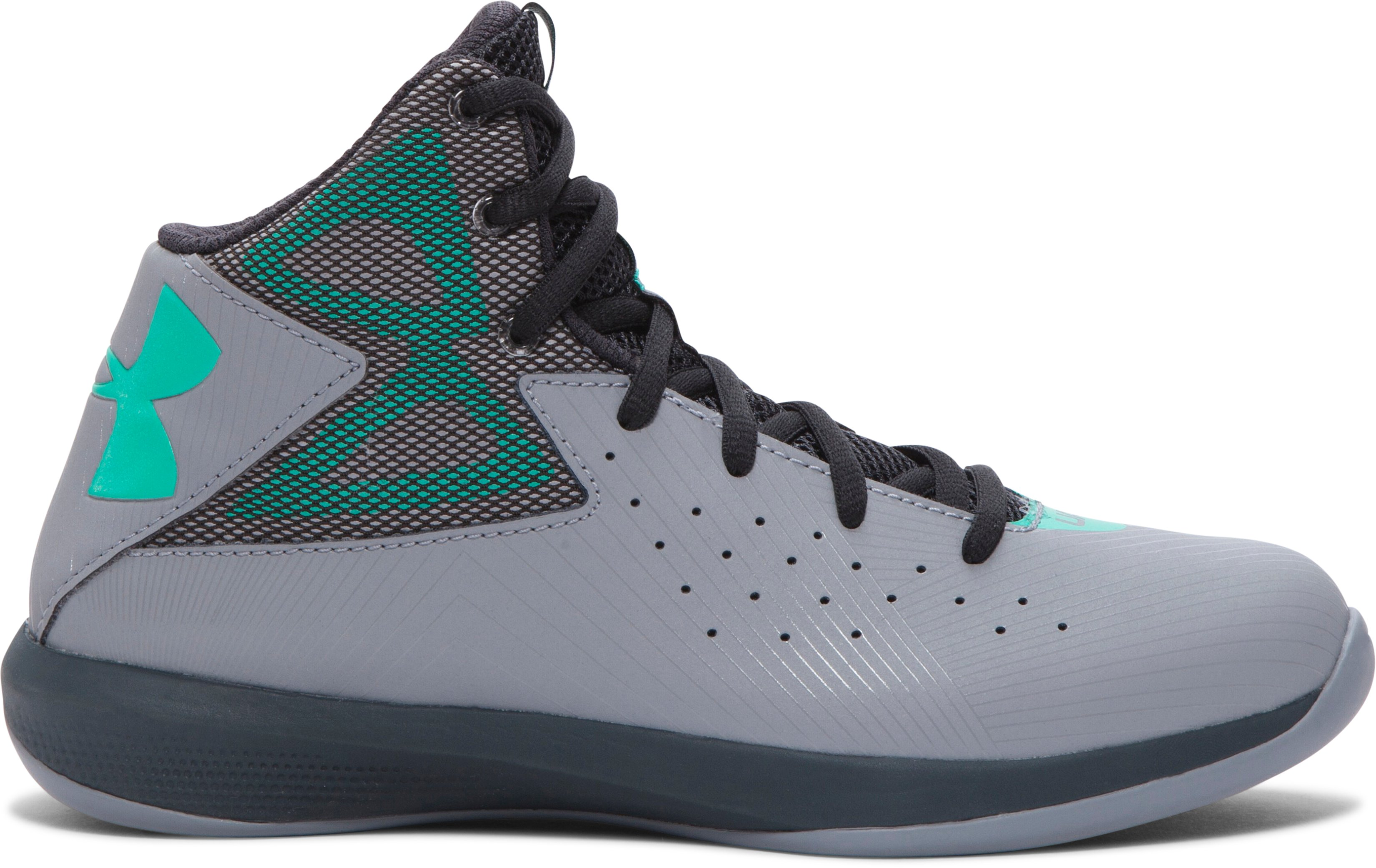 boys grade school ua rocket basketball shoes