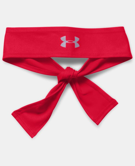 Women's UA Armour Tie Headband LIMITED TIME: FREE SHIPPING 1 Color $10.49 to $12.99