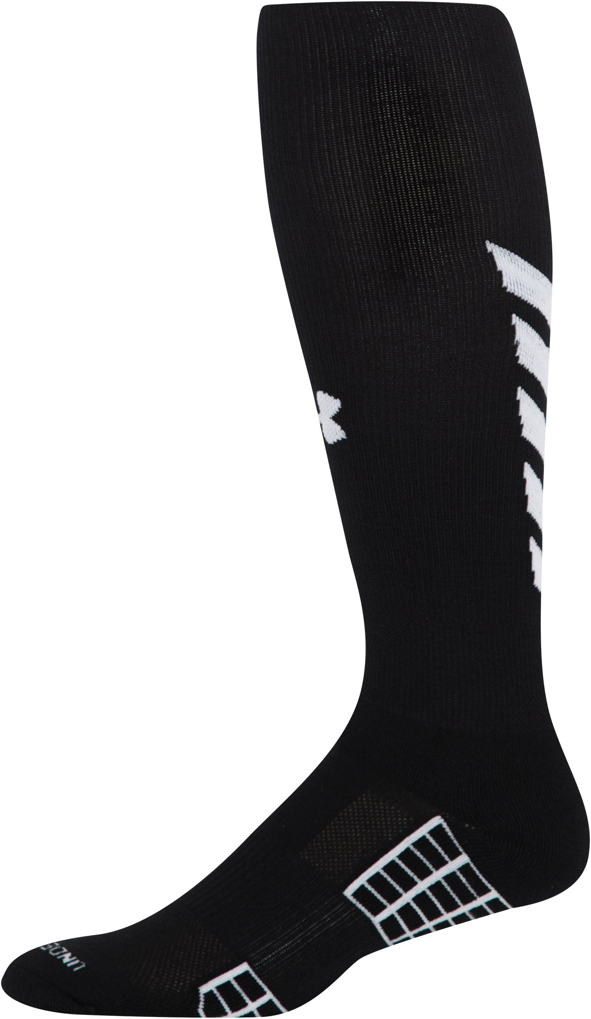 Men's UA Striker Soccer Over-The-Calf Socks, Black