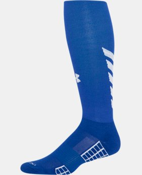 Men's UA Striker Soccer Over-The-Calf Socks  1 Color $17.99