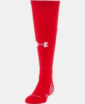 Boys' UA Striker Soccer Over-The-Calf Socks  2 Colors $16.99