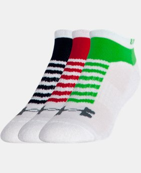 Men's UA Beyond V No-Show Socks 3-Pack