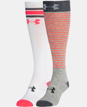 Women's UA Retro Over-The-Calf Socks 2-Pack