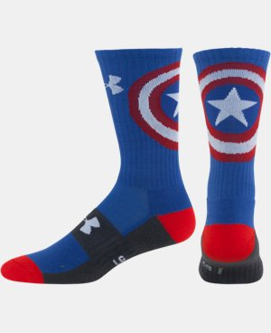 Men's Under Armour® Alter Ego Captain America Socks  1 Color $14.99
