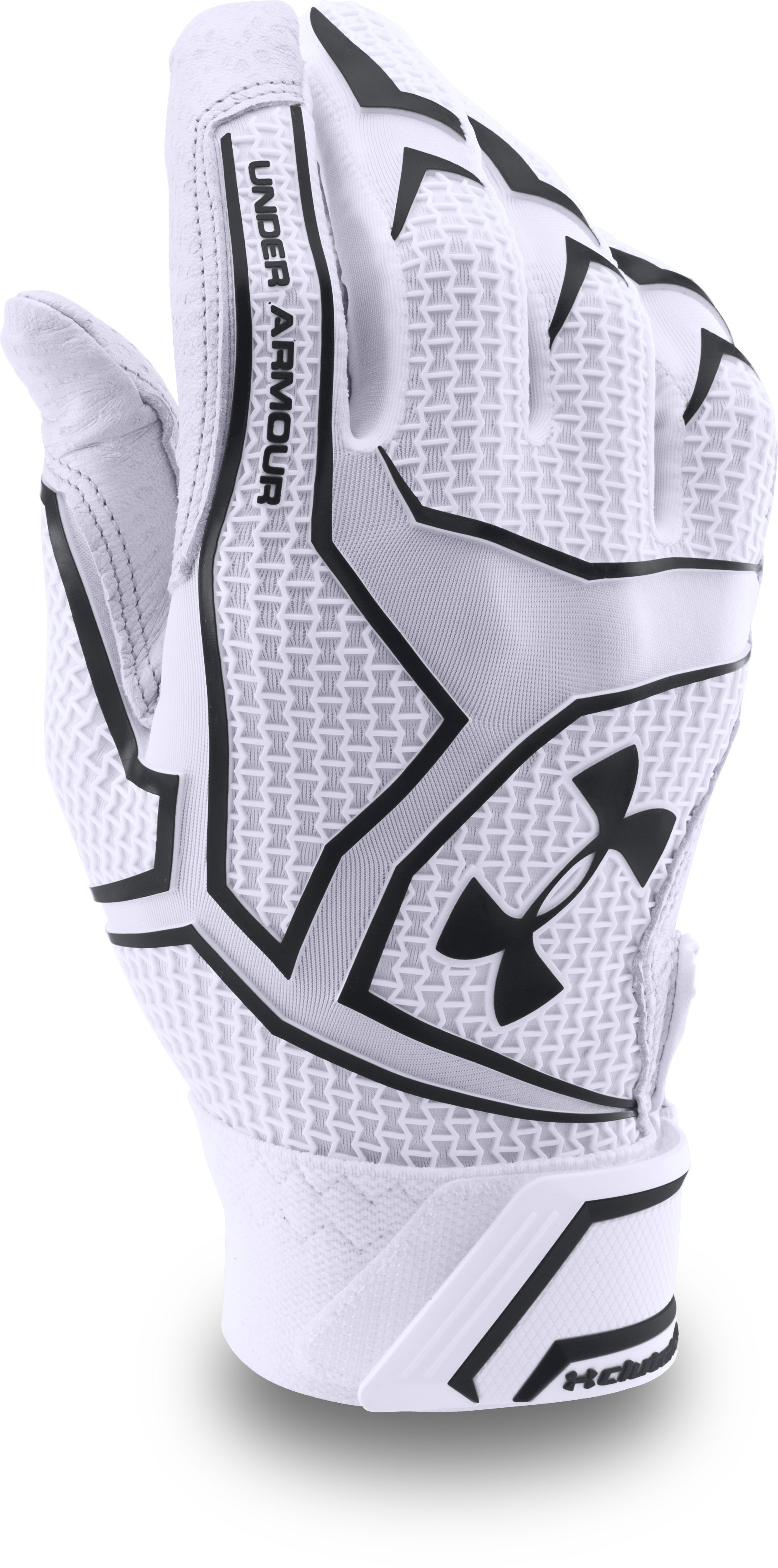 Men's UA Yard ClutchFit™ Baseball Batting Gloves — All-Star Game Edition, White,