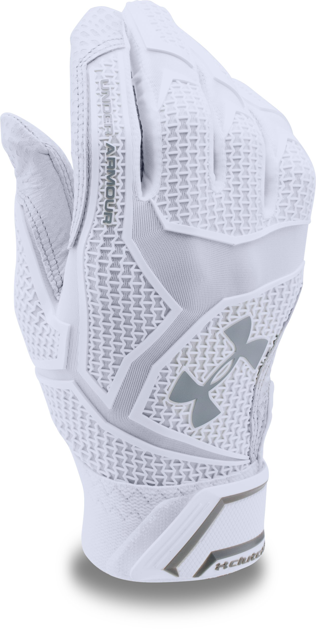 Men's UA Yard ClutchFit™ Baseball Batting Gloves — All-Star Game Edition, White