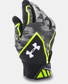 Men's UA Yard Undeniable Batting Gloves  1 Color $29.99