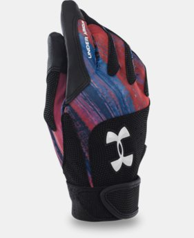 Women's UA Radar III Softball Batting Gloves LIMITED TIME: FREE U.S. SHIPPING 4 Colors $11.24 to $14.24