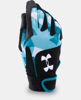 Women's UA Radar III Softball Batting Gloves  1 Color $13.99 to $18.99