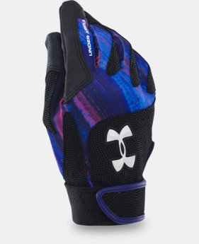 Women's UA Radar III Softball Batting Gloves  1 Color $18.99