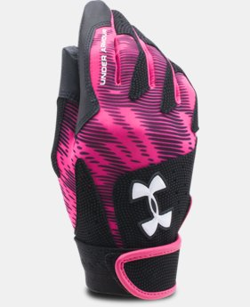 Women's UA Radar III Softball Batting Gloves  2 Colors $13.99 to $14.99
