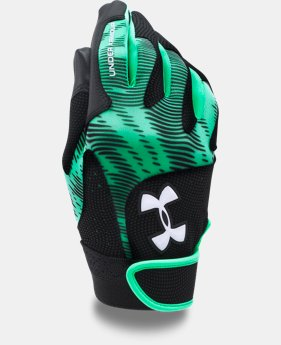 Girls' UA Radar III Fastpitch Batting Gloves   $22.99