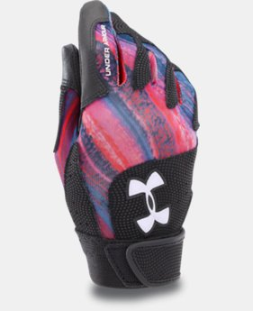 Girls' UA Radar III Fastpitch Batting Gloves  2 Colors $14.99