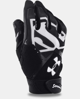 Men's UA Superman Clean-Up Batting Gloves