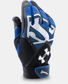 Men's UA Superman Clean-Up Batting Gloves LIMITED TIME: FREE U.S. SHIPPING  $15.74