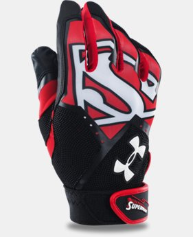 Men's UA Superman Clean-Up Batting Gloves LIMITED TIME: FREE U.S. SHIPPING 1 Color $15.74