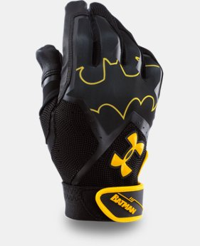 Men's UA Batman Clean-Up Batting Gloves