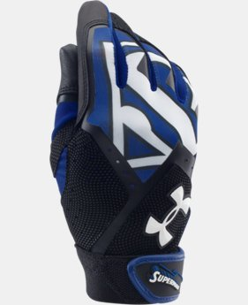 Boys' Under Armour® Alter Ego Superman Clean-Up Batting Gloves LIMITED TIME: FREE U.S. SHIPPING 1 Color $13.49