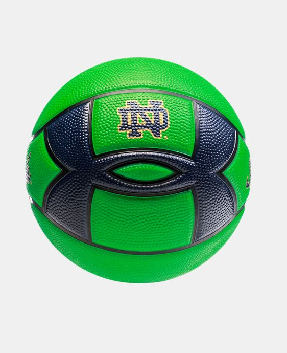 UA Notre Dame Mini Street Basketball LIMITED TIME: FREE U.S. SHIPPING 1 Color $19.99