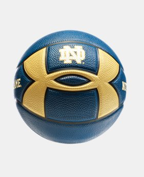 UA Notre Dame Mini Street Basketball  1 Color $14.99