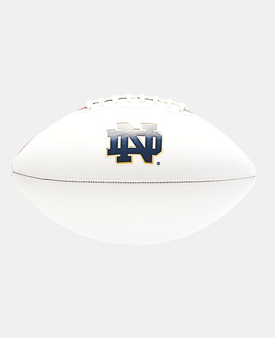 UA Notre Dame Autograph Football  1 Color $14.24